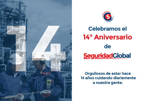 14 Aniversario de Seguridad Global